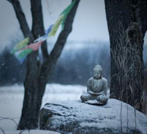 Buddha on Juniper Hill in Ontario