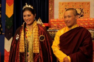 Royal Couple at the Sakyong Wangmo Empowerment in Halifax