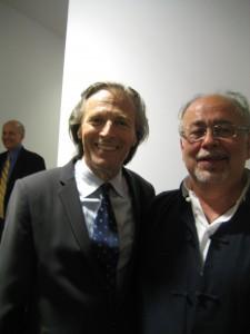 Peter Lieberson with Samuel Bercholz