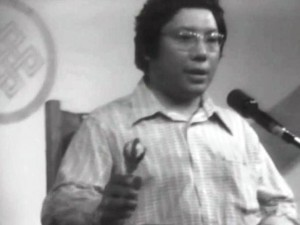 Chogyam Trungpa teaching at the Naropa Institute in July 1974