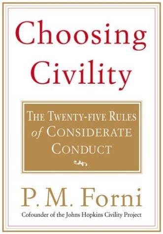 Essay on choosing civility
