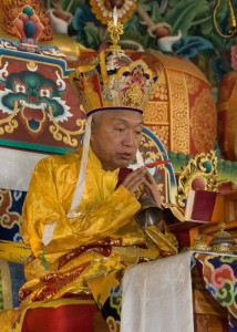 His Eminence Namkha Drimed Rinpoche, photo by Christoph Schonherr