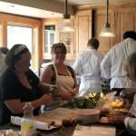 Banquet preparations