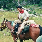 The Medicine Bow on Horseback