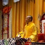 Sakyong Offers Shambhala Day Address, 2012