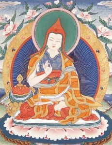 Shantideva, courtesy of bodhicharya.org