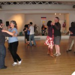 all waltzing at end of Midsummers 2012 contra dance