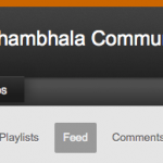 Shambhala Community YouTube Channel Launched