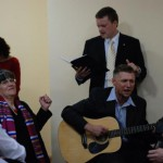 celebrating with Ukrainian songs