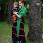 Vitalya and her son