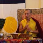 Sakyong Concludes Gesar Activity Ritual