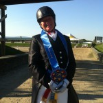 Lady Diana Wins Dressage Grand Prix