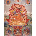 Death of Sherab Palden Beru, Thangka Master