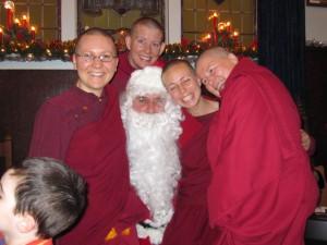 Santa&the nuns