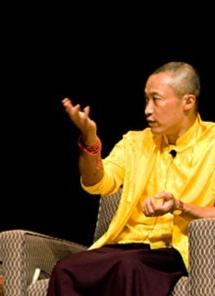 Sakyong Mipham Rinpoche teaching at Compassionate Leadership program