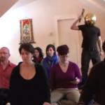 Karme Choling Staff do the Harlem Shake