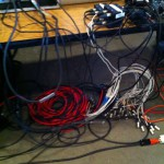 Behind the scenes of Shambhala Online - a few wires keeping it all together
