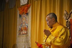 Sakyong Mipham Rinpoche on Shambhala Day 2013, photo by BHH Studios