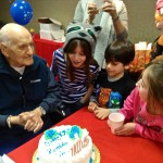 Joseph Nardiello celebrates his 105th birthday