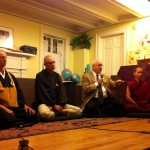 Buddhists Converse in Montpelier, VT