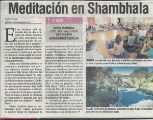 Meditation en Shambhala