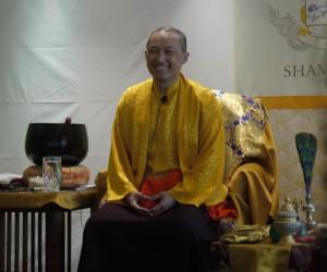 Sakyong Mipham Rinpoche at the Chicago Center