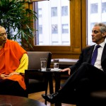 Mayor Emanuel Welcomes the Sakyong to Chicago