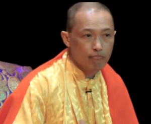 Sakyong Mipham Rinpoche teaching at Imagining Peace