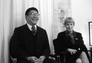 Chogyam Trungpa et Diana Mukpo