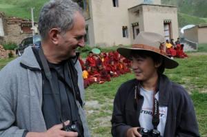 with Joseph during Lhasang