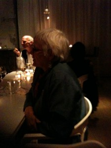 Judy Lief at the Profound Treasury dinner at ABC Kitchen