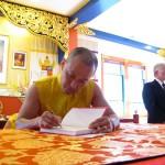 Shambhala Principle Book Signing