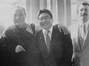 HH Karmapa and VCTR with Regent, Shambhala Archives