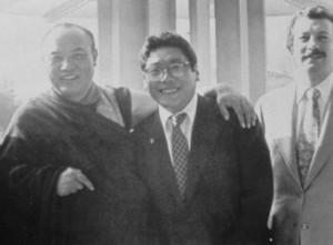 HH Karmapa and VCTR with Regent, Shambhala Archives
