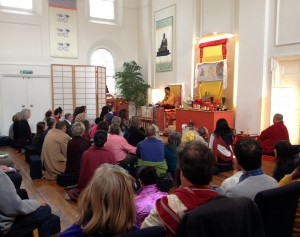 Jigme Rinpoche teaching about Gesar