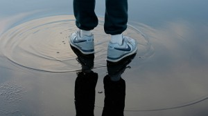 Michael in Puddle