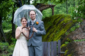 Sarah Kimball and James Hudspeth of Boston were married in a Shambhala inspired ceremony on June 1 in Starksboro, VT