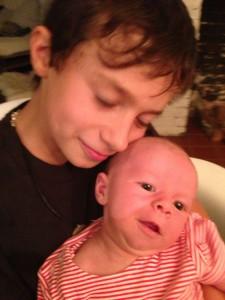 Javin and baby brother Kinen Elouan Lee-Lobel