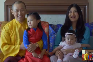 Sakyong and family