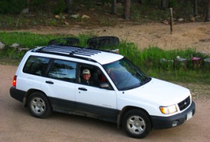 My transportation to and from the Shotoku Center to Red Feather Lodge.