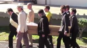Cremation Ceremony of Shibata Sensei