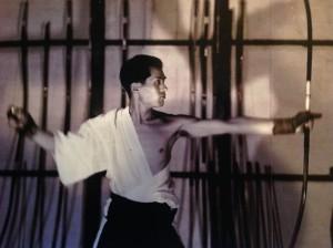 Shibata Sensei as a young man in Japan