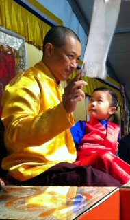 Sakyong Mipham with Jetsun Drukmo