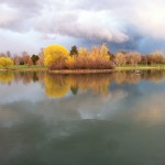 Washington Park lake, Denver, photo by Aaron Snyder