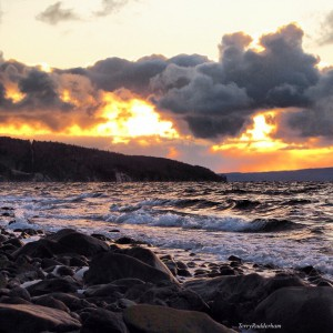 Storm clouds on Cape Breton, photo by Terry Rudderham