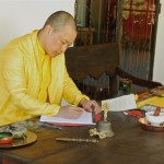 The Sakyong Returns to Casa Werma