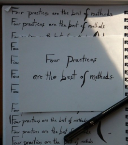 Four Practices by Gordon Shotwell