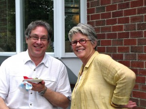 Larry Mermelstein and Ellen Kearney