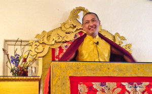 Sakyong Mipham Rinpoche, photo by Karen Iglehart