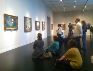 Contemplative Viewing 2012 SA Field Trip to LACMA 3